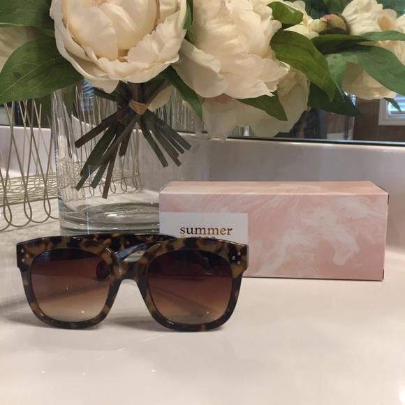 d28a96e0 Summer & Rose Accessories | Summer Rose Kaia Tortoiseshell ...
